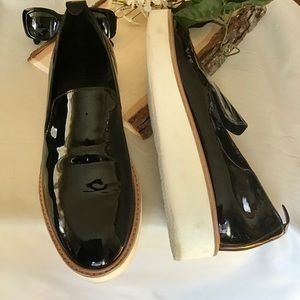 Vince Patent Leather Loafers